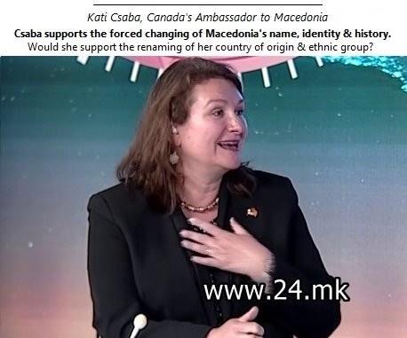 Kati Csaba Canadas Ambassador to Macedonia