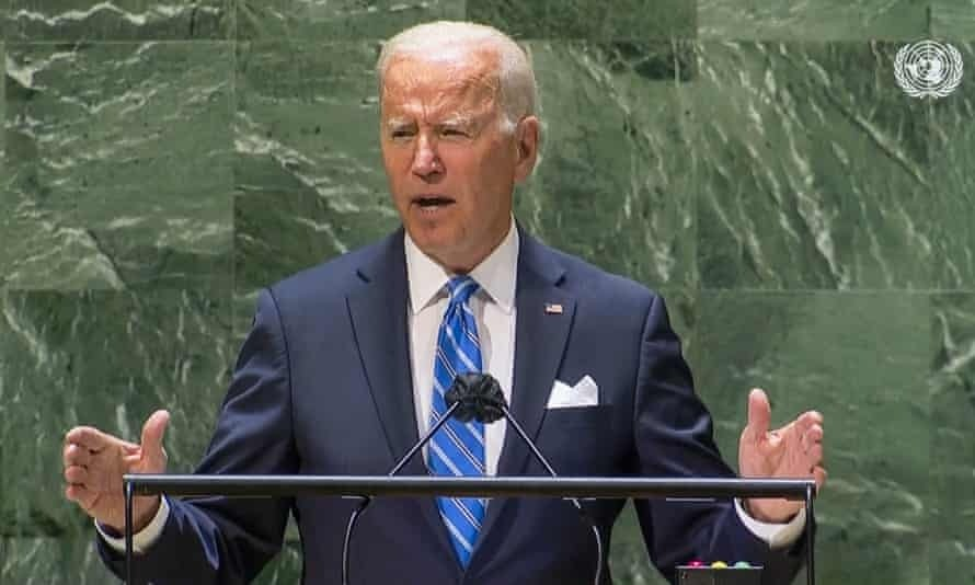 Joe Biden's Stand-Up Routine at the UN General Assembly