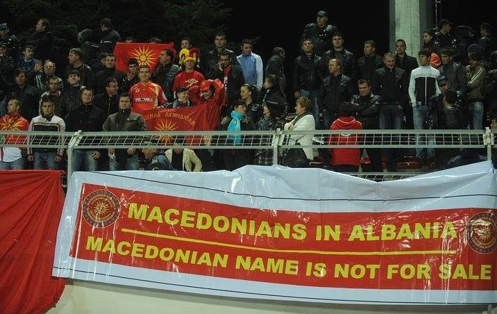 Proud Macedonians in Albania